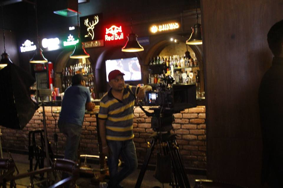 Partners brand ad film shoot at Peddlers Elante