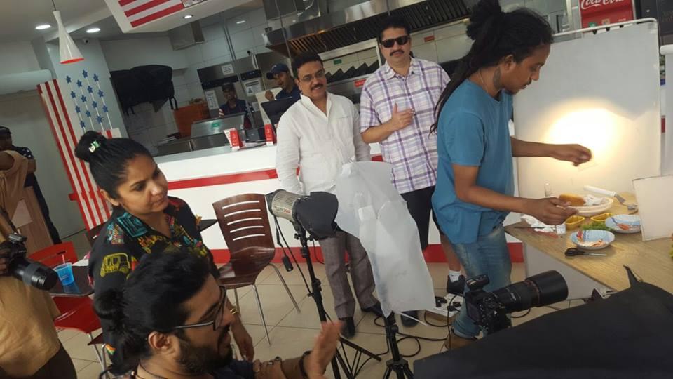 Partners Team Shoot for La Americana Delhi